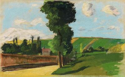 Camille Pissarro, 'Paysage à Pontoise', ca. 1873-1874