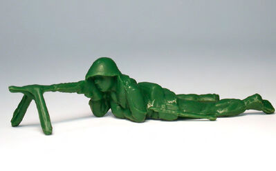 Yoram Wolberger, 'Toy Soldier #5 (Prone Position)'
