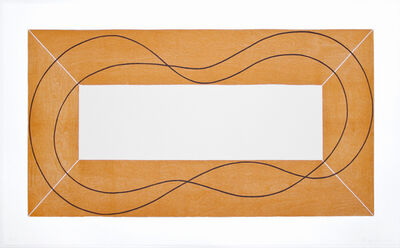 Robert Mangold, 'Extended Frame with Separation', 2014