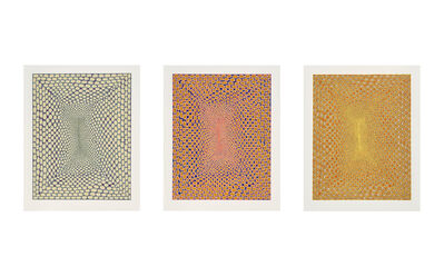James Siena, 'Battery Variations I, II, and III', 2005