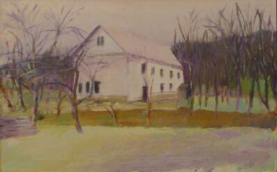 Wolf Kahn, 'Gilford Grange, November in Vermont', 1973