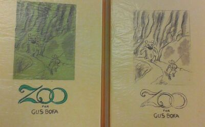 Gus Bofa, 'Zoo', 1935