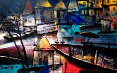 Paresh Maity, 'The Light Through the Ghats'