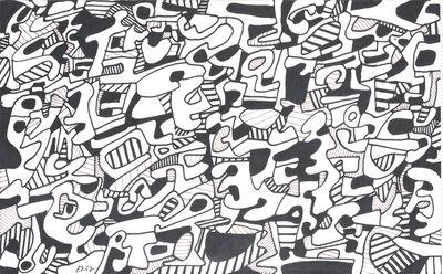 Jean Dubuffet, 'Texte Logologique Viii (8  January 1967)', 1967
