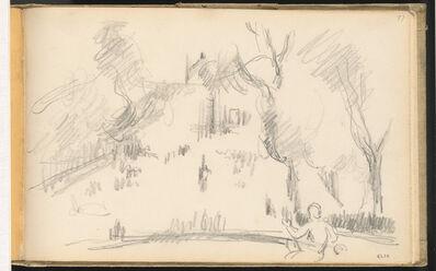 Paul Cézanne, 'House in a Park', 1883/1886