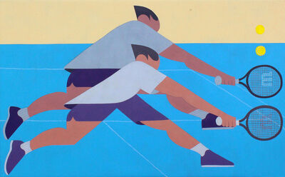 Adrian Kay Wong, 'Ball, Ball Racket, Racquet', 2017