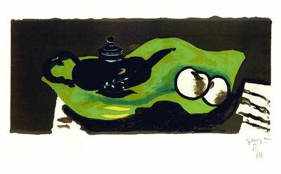 Georges Braque, 'Théière et pommes', 1946