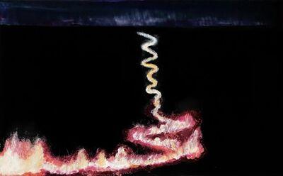 Chad Olsen, 'Grass burning study', 2020