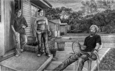 Edgar Jerins, 'Sandee, Crystal and Dave with Trinity', 2005