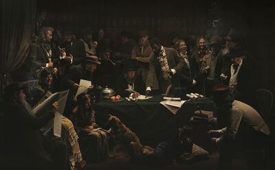 Red Saunders, 'Cuffay and theLondon Chartists', 2013