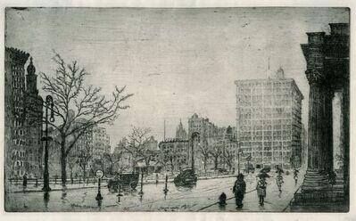 Leon Dolice, 'Union Square, NY', 1923