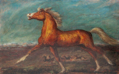 John Steuart Curry, 'Golden Horse', 1935