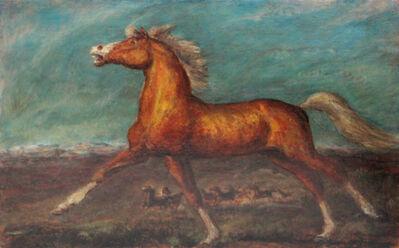 John Steuart Curry, 'Golden Horse', 1935