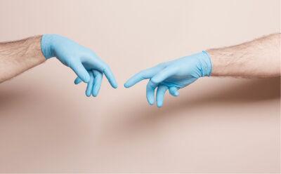 Karen Epstein, 'Hand Of God', 2020