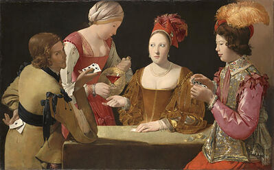 Georges de La Tour, 'The Cheat with the Ace of Clubs', ca. 1630
