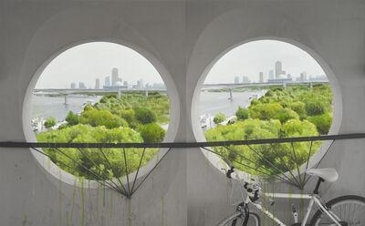 Honggoo Kang, 'Study of Green-Seoul-Vacant Lot-Yeouido (Islet)', 2020