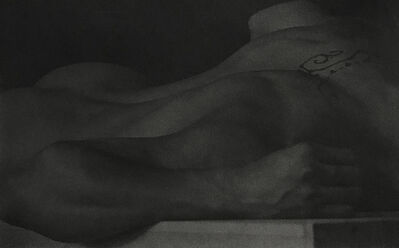 Anderson & Low, 'Untitled (Figure Lying on Block, Back View with Tattoo)', 2001