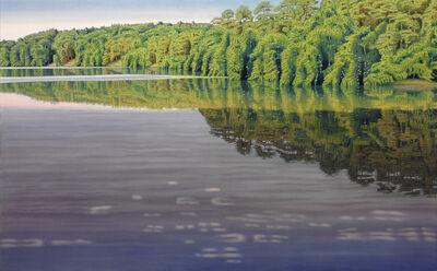 Peter Eckert, 'Licht und Schatten am Stechlinsee II (Light and shadows at the lake Stechlin) ', 2006