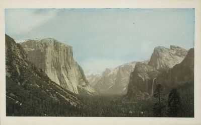 Unknown Artist, 'Yosemite Valley from Tunnel View', ca. 1930
