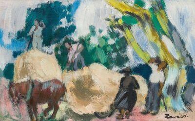 Jean Zawado, 'Les moissons'