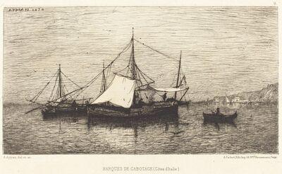 Adolphe Appian, 'Barques de Cabotage'