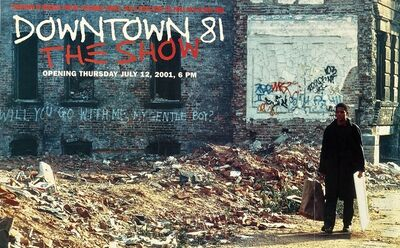 Jean-Michel Basquiat, 'Basquiat Downtown 81 exhibition poster ('Downtown 81 The Show' Jeffrey Deitch gallery) ', 2001