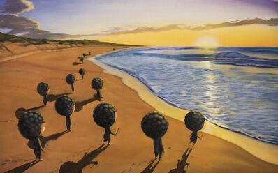 Shiro Utafusa, 'Watching Sunrise'