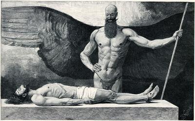 Sascha Schneider, 'Der Triumph Der Finsternis', 1894-1895