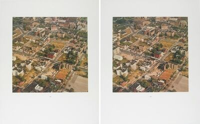 Thomas Ruff, '3-D New York Bronx', 1990-2000