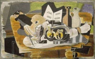 Georges Braque, 'Still Life: The Table', 1928