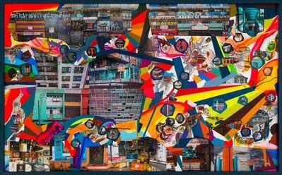 Franz Ackermann, 'Sao Paulo/Brace/Brace', 2019