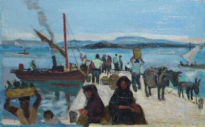 Bernard Lamotte, 'Le Bateau de Peche- Grece (Fishing Boat- Greece)', 20th Century
