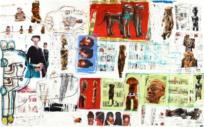 Aboudia, 'Untitled ', 2013