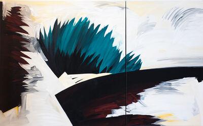 Dick Evans, 'Edge (diptych)', 2018