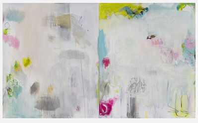 Jane Booth, 'Channels and Fields Diptych', 2019