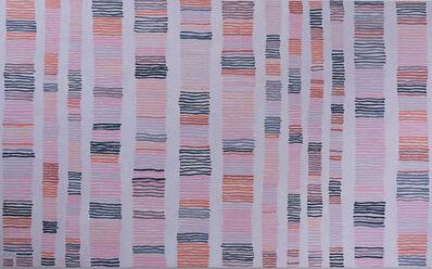 Barbara Macfarlane, 'Street Lines Burnt Orange and Rose Dore', 2019