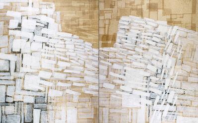 Eva Isaksen, 'Stone Wall Study - Divided', 2018