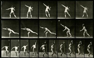 Eadweard Muybridge, 'Nude Man Throwing', 1887