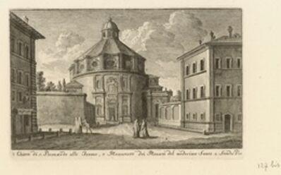 Giuseppe Vasi, 'Chiesa di S. Bernardo alla Terme, e Monastero dei Monaci del Medisimo Santo, 2 Strada Pia', 1747-1801