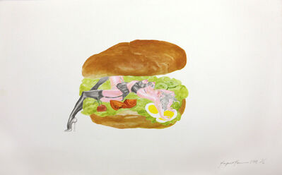 Margaret Harrison, 'Good Enough To Eat ', 1971
