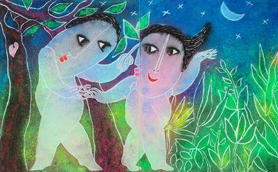 Juan Ripollés, 'Romance nocturno 夜戀', 2019