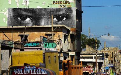 JR, 'Inside Out, Haiti', 2012