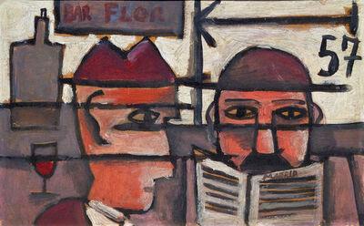 José Gurvich, 'Bar flor', 1957