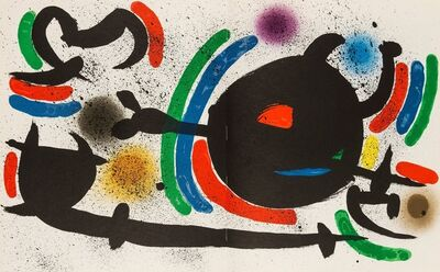 Joan Miró, 'Lithographies I', 1972