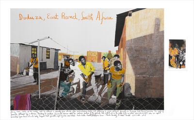 Marcelo Brodsky, 'DUDUZA, SOUTH AFRICA 1985 (collaboration with Gideon Mendel)', 2018