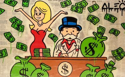 Alec Monopoly, 'Scarface Money Monops', 2017