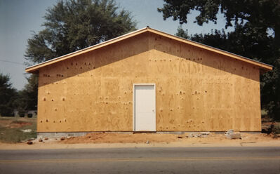 "William Christenberry, 'Building that Replaces ""The Underground Club"",  Greensboro, Alabama', 1999"