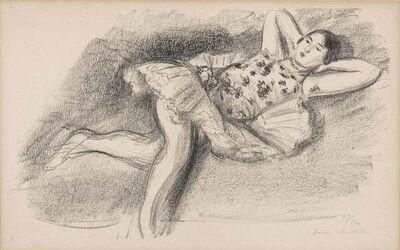Henri Matisse, 'Danseuse Étendue Au Divan (Duthuit 484)'