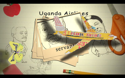 Eria Sane Nsubuga, 'I'm not your servant', 2019