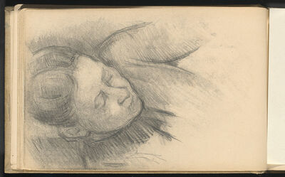 Paul Cézanne, 'Woman Leaning Forward', 1890/1894